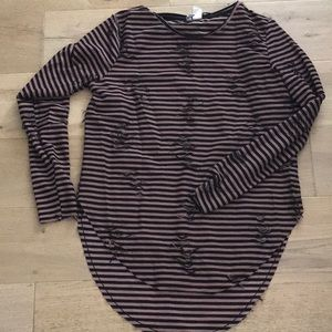 H and m women's top
